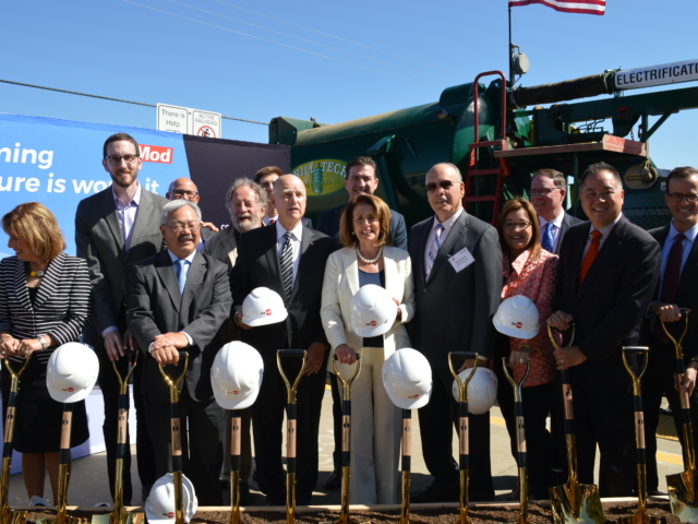Caltrain Electrification Groundbreaking