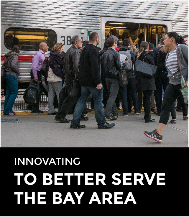 Innovating to better serve the Bay Area