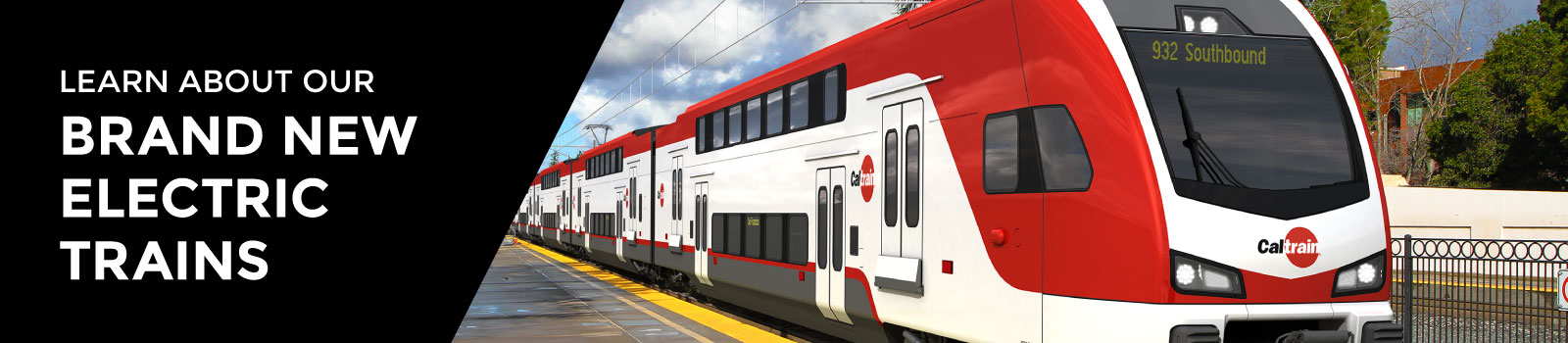 Learn more about Caltrain new trains