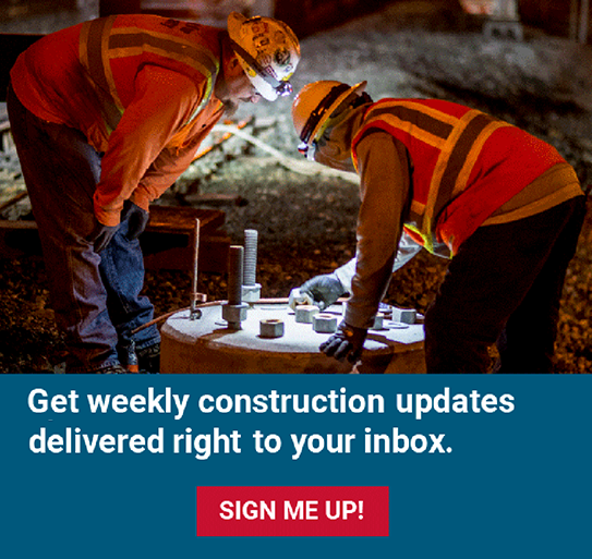 Sign up for CalMod construction updates.