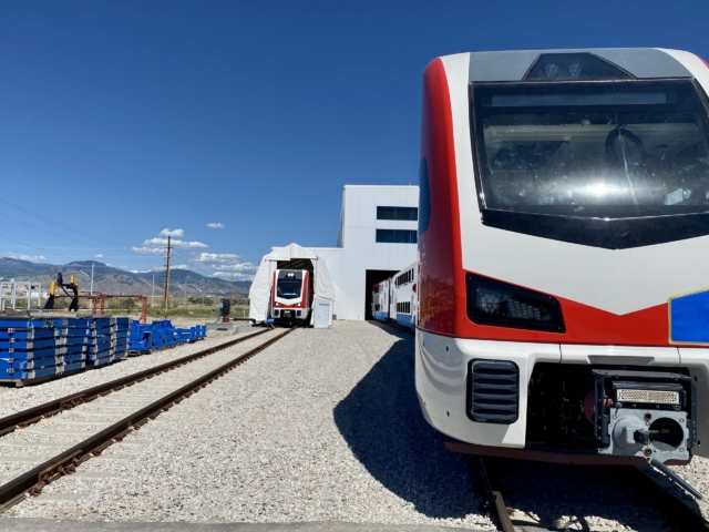 Electric Trains – Test Track & Water Tightnes Test Tent