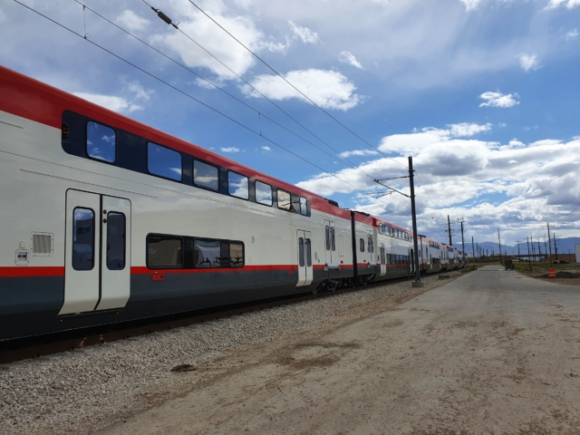First Trainset on SLC Test Track – May 2020(3)