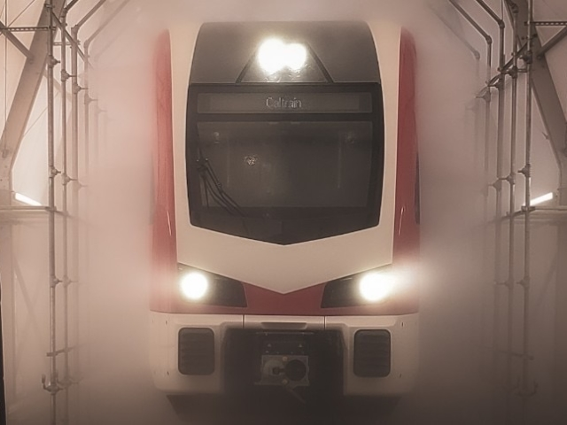 Electric Train: Water Tightness Test - September 2020