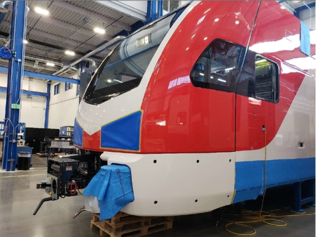 Lower Body Panels Being Installed February 2020