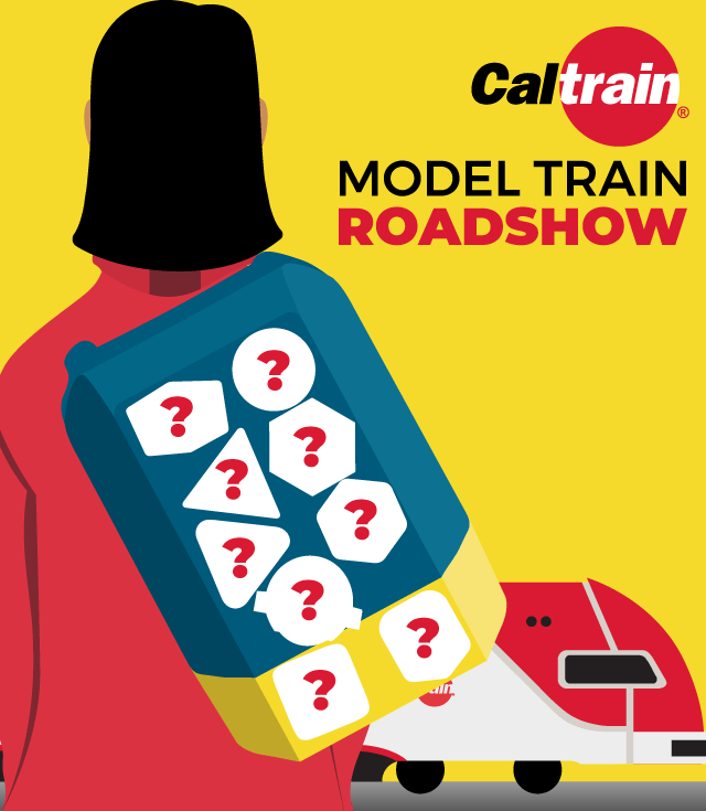 CalMod Model Roadshow, Electric Trains, Caltrain Electrification, Caltrain enhancement, Caltrain new trains