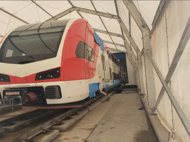 Water Tightness Test, Trainset #1 – May 2020