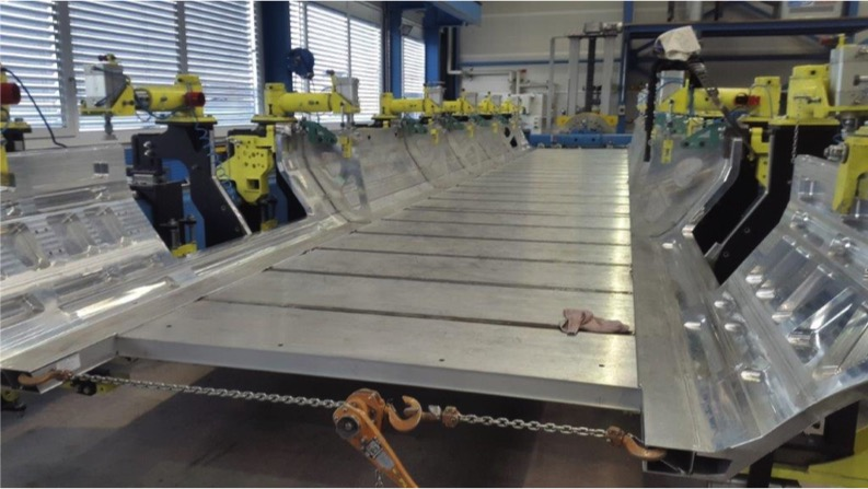 photo of Middle Underframe in Welding